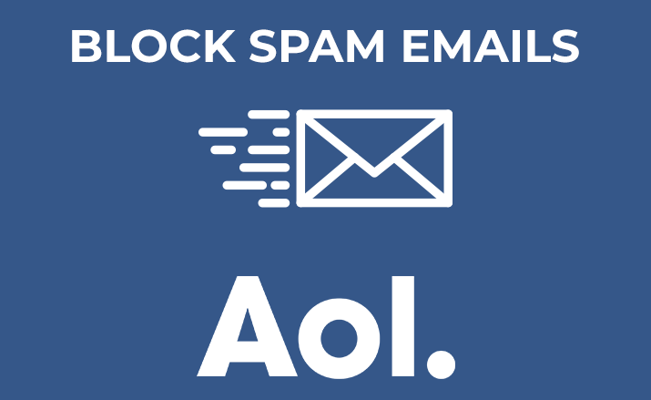 How to block spam emails on the AOL Mail account?