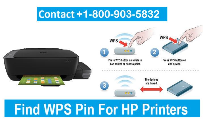 How to find WPS Pin on HP Printer and Establish Connection?