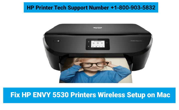 How  To Setup The HP Envy 5530 Printers On Mac?