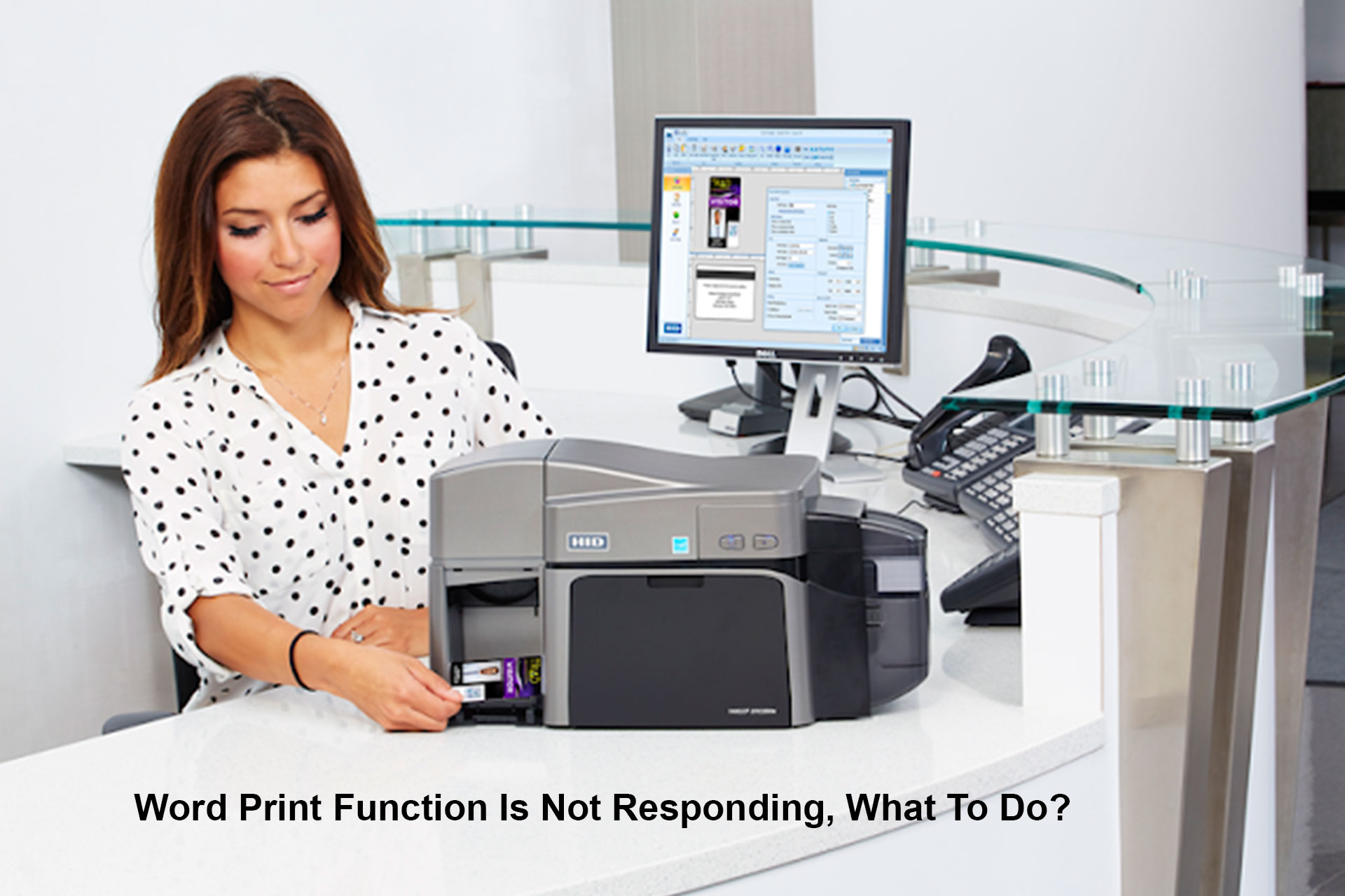 Word Print Function Is Not Responding, What To Do?