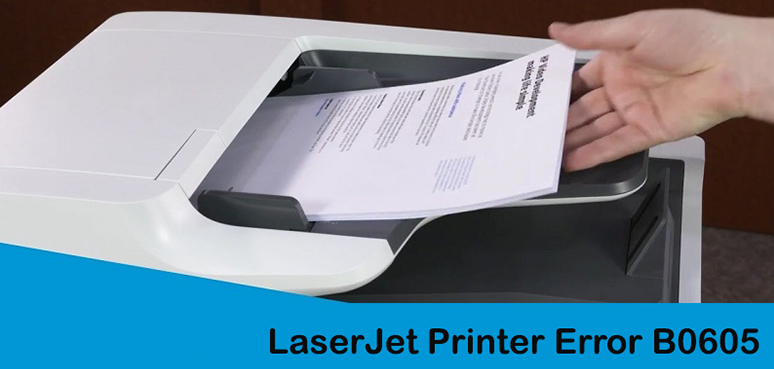 How to Fix HP Laser Jet P2050 Printer Error B0605