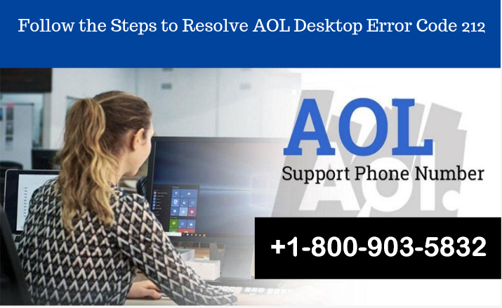 Follow the Steps to Resolve AOL Desktop Error Code 212