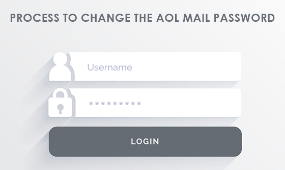 The process to change the AOL Mail Password!